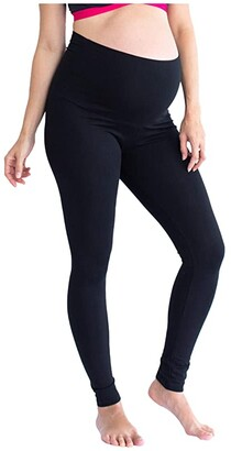 Angel Maternity Maternity Leggings (Black) Women's Clothing