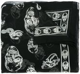Alexander McQueen 'Victorian Skull' scarf