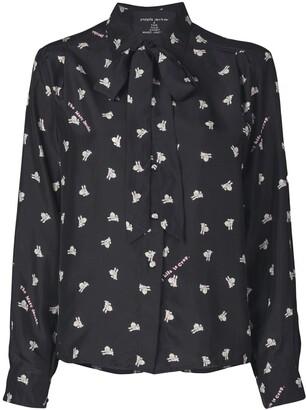 Marc Jacobs x Magda Archer The Silk shirt