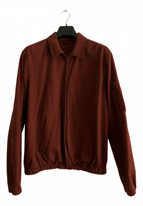 A.P.C. Red Cotton Jackets