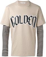 Golden Goose Deluxe Brand layered stripe top - men - Cotton - S