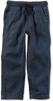 Carter's Pull-On Denim Cotton Pants, Little Boys (2-7)