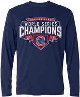 LDMH Men's Chicago Cubs 2016 World Series Champions Long Sleeve Tee Shirt