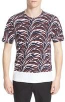 Marni Men's Front Leaf Print T-Shirt