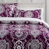 Pottery Barn Teen Natalia Duvet, Twin, Maroon / Dark Purple