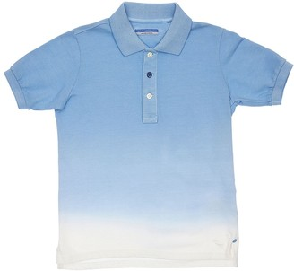 Jacob Cohen Tie Dye Print Cotton Piquet Polo