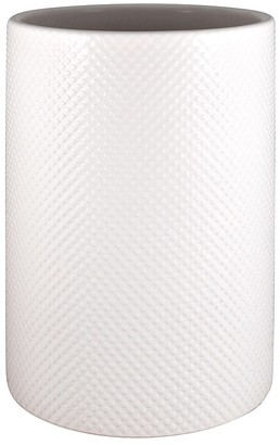 Ambrosia Classico Stoneware Utensil Holder White Dot