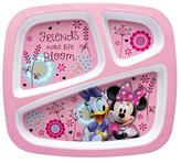 Disney Minnie Mouse 3-Section Tray