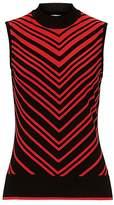 Betty Barclay Chevron knit sleeveless top