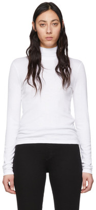 Rag & Bone White Kari Turtleneck