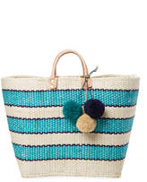 Mar y Sol Women's Capri Stripe Tote