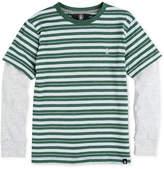 Volcom Long-Sleeve Stripe Cotton T-Shirt, Big Boys