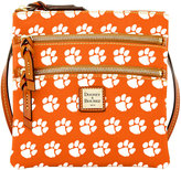 Dooney & Bourke Clemson Tigers Triple Zip Crossbody Bag