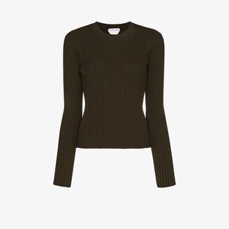 Bottega Veneta Ribbed Knit Sweater