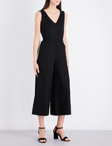 Co Belted cotton jumpsuit