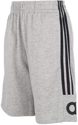 adidas Toddler Boys Cotton French Terry 3-Stripe Shorts