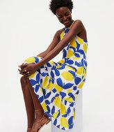 LOFT Lemonade Halter Dress