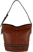 Tignanello As Is Vintage Leather RFID Bucket Hobo Bag