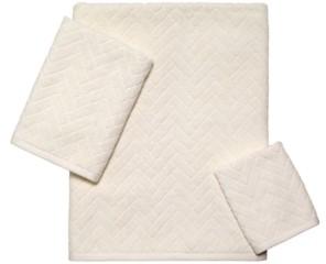 Avanti Closeout! Herringbone Bath Towel Bedding