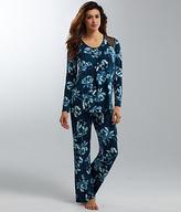 Midnight by Carole Hochman Floral Modal Pajama Set