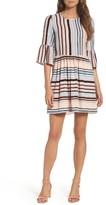 Women's Charles Henry Bell Sleeve Minidress
