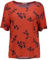 Minimum JUTA Print Tshirt red ochre