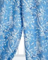 """Legacy Two 50""""W x 108""""L Pagoda Garden Toile Curtains"""