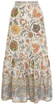 Zimmermann Edie Long Skirt