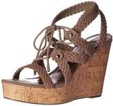 Madden-Girl Women's Emboss-c Wedge Sandal,9 M US