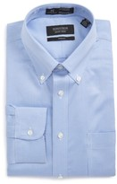 Nordstrom Men's Smartcare(TM) Trim Fit Check Dress Shirt