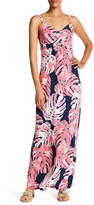 Tommy Bahama Pop Art Palms Print Long Dress