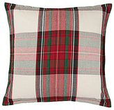 Noble Excellence Oversized Holiday Plaid Pillow