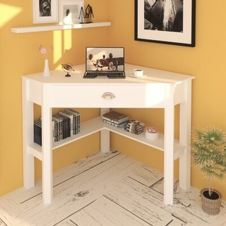 White Corner Desk Shop The World S Largest Collection Of Fashion Shopstyle
