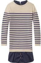 Scotch & Soda Knitted Stripe Shirt Dress