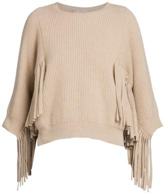 Stella McCartney Fringe Cashmere & Virgin Wool Sweater