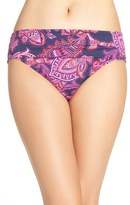 Tommy Bahama Women's 'Jacobean' High Waist Bikini Bottoms