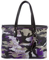 Christian Dior LE Camouflage Tote