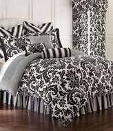Rose Tree Symphony Damask & Houndstooth Cotton Sateen Reversible Comforter Set