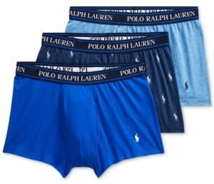 Polo Ralph Lauren Men's 3-Pk. Classic Stretch Trunks