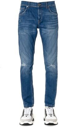 Dondup Blue Mius Cotton Jeans