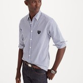 J.Crew PLAY Comme des Garçons® button-down shirt in stripe