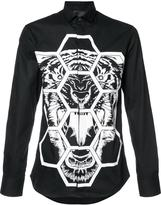 Philipp Plein tiger print shirt