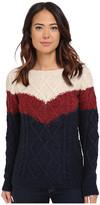 Mavi Jeans 3 Color Blocking Detailed Sweater