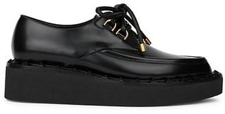 Valentino Rockstud Flair Leather Platform Oxfords