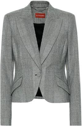 Altuzarra Kershaw checked wool-blend blazer