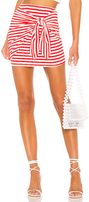 Lovers + Friends Morby Mini Skirt