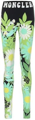 MONCLER GENIUS 8 MONCLER RICHARD QUINN floral leggings