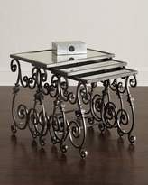 Hooker Furniture Louise Glass-Top Nesting Tables