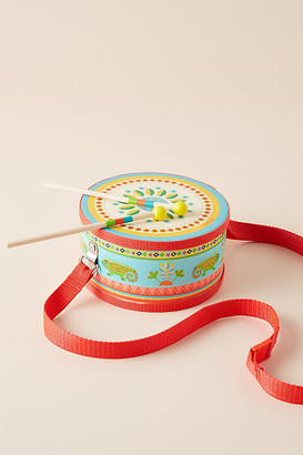 Djeco Kids Drum Toy By in Blue