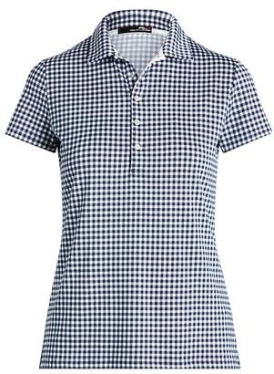 Ralph Lauren Tailored Fit Gingham Golf Polo